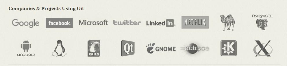 Companies Using Git