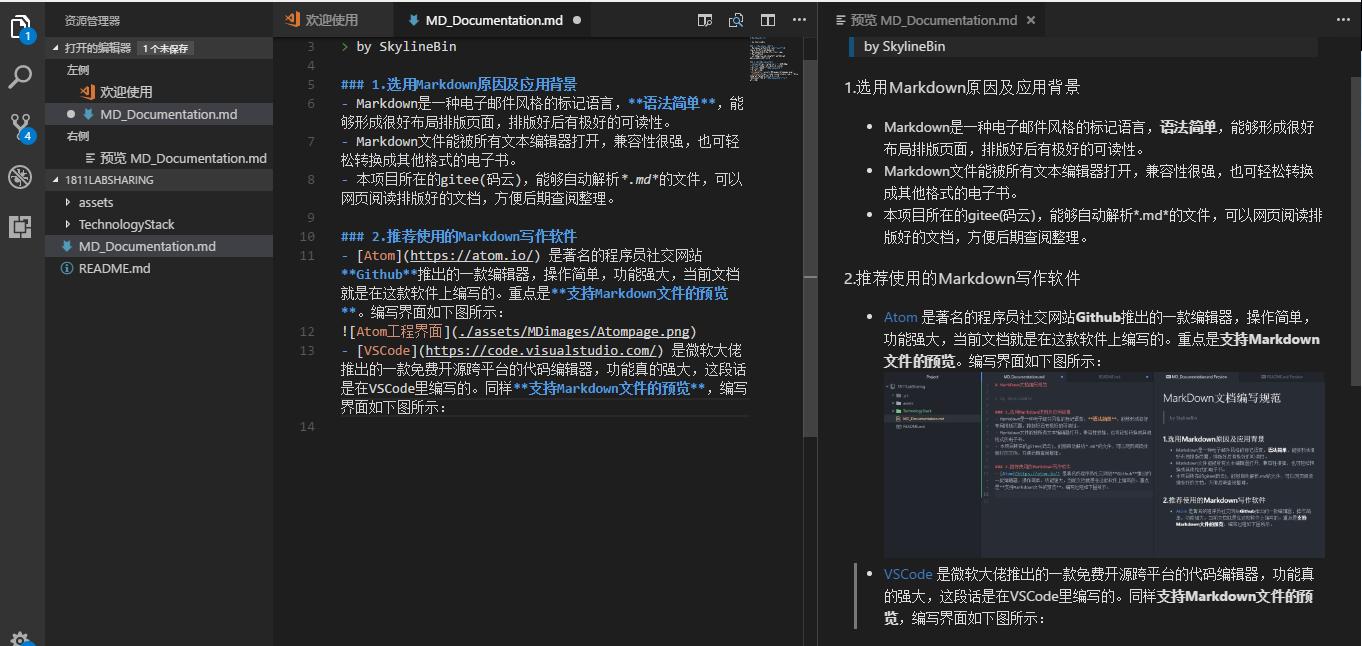 VSCode工程界面